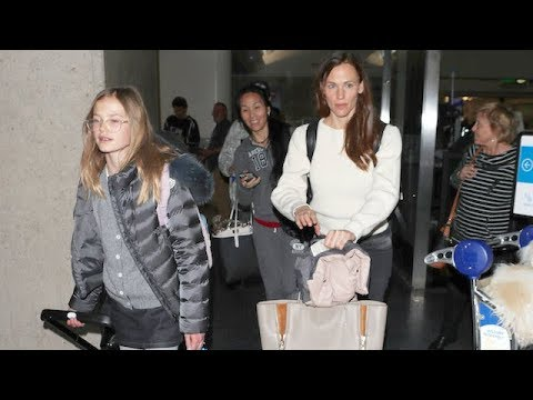 Jennifer Garner And Daughter Violet Back In LA Amid Reports Ben Wants His Family Back