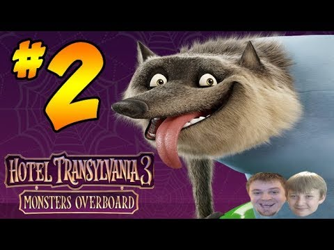 Hotel Transylvania 3: Monsters Overboard - PART 2 - Rescuing Wayne
