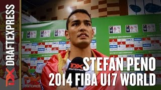 2014 Stefan Peno Interview - DraftExpress - FIBA U17 World Championships