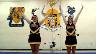 The team wraps up their 2011-2012 season with a video tribute to the Hey Mickey song - cheer style!