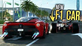 NEW F1 CAR vs Hypercar! - LA to Vegas | The Crew 2