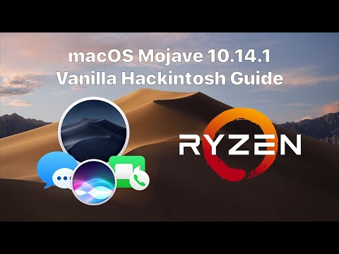 Ryzen/FX Vanilla macOS Mojave 10.14.1/10.14.4 Hackintosh Guide! (Installer USB created in Windows)
