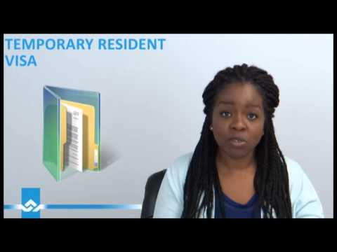Temporary Resident Visa to Canada Video