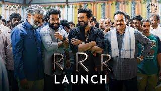 Video RRR Launch Video - NTR, Ram Charan | SS Rajamouli MP3, 3GP, MP4, WEBM, AVI, FLV Desember 2018