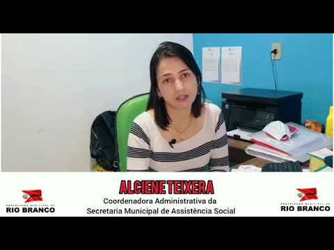 Programa ser família emergencial (Coordenadora administrativa Alciene Teixera)