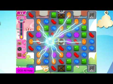 Candy Crush Saga Level 2287 NO BOOSTERS Cookie
