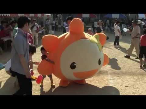 ゆるキャラ「きづくちゃん(なかま きづく)」(大阪府)