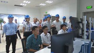 Đồng chí Phạm Lê Hưng, Phó Bí thư Huyện ủy làm việc với Đảng ủy xã Lê Lợi