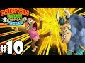 Donkey Kong Country Tropical Freeze Co-Op Ba-Boom Boss PART 10 (Wii U HD Gameplay Walkthrough Coop)