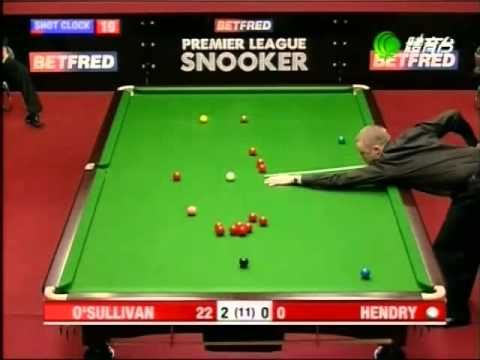 Snooker - 2005 Premier League 2 - Final - O'Sullivan vs Hendry - Full Match