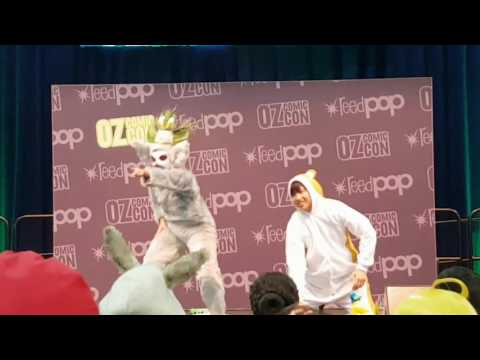 All Hail King Julien Cosplay Skit - Madagascar Oz Comic Con Brisbane 2016