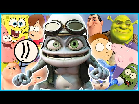 Crazy Frog - Axel F (Animated Films COVER)