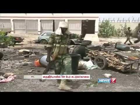 Boko Haram gunmen kill 68 in Nigerian village