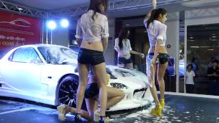 Thailand Motor Festival 2013 Car Wash By FHM Girls-401