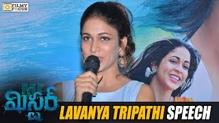 Watch Lavanya Tripathi Speech at Mister Movie Trailer Launch...The official trailer Mega prince Varun Tej's most awaited flick 'Mister' released on march 22n...