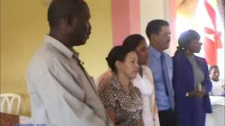 CPF visits elderly in San Pedro De Marcaris DR