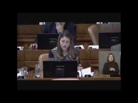 Diputada Nogueira y crisis en Venezuela