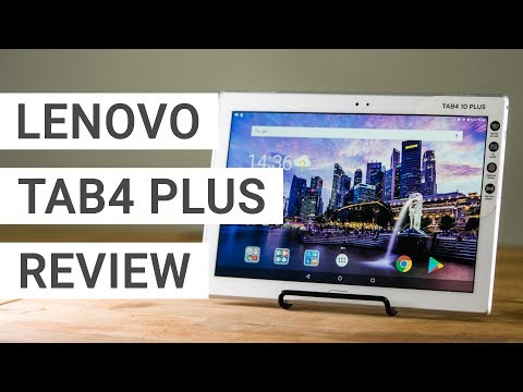 Lenovo Tab 4 10 Plus Review: You won't be disappointed!