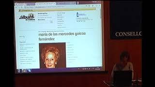 Presentación da cartografía María de las Mercedes Goicoa Fernández no Álbum de mulleres