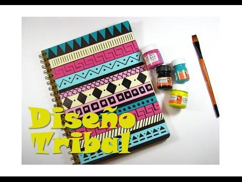 [ESPECIAL DIY] Decora tu cuaderno con diseño TRIBAL