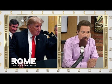 Video: Trump Serves Fast Food Dinner at Clemson's White House Visit   The Jim Rome Show