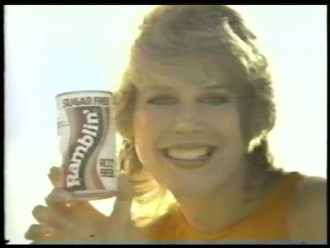 Ramblin root beer soda classic tv commercial 1982