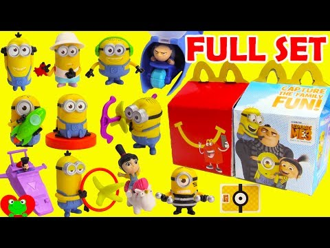 2017 Despicable Me 3 Minions McDonald