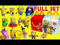 2017 Despicable Me 3 Minions Mcdonald s Happy Meal Toys