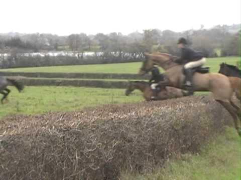 Taunton Vale over a hedge - Thời lượng: 53 giây.