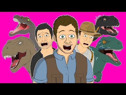 ♪ JURASSIC WORLD ANIMATED SONGS - Music Video Compilation
