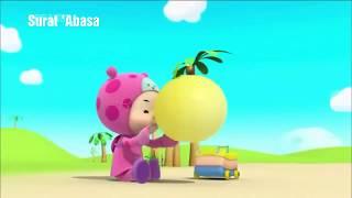 Video animasi hutos mini mini juz amma murotal surat Abasa