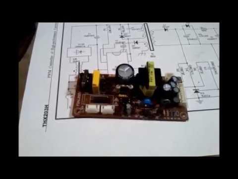 Ремонт импульсного блока питания цифрового тюнера Supra SDT-92