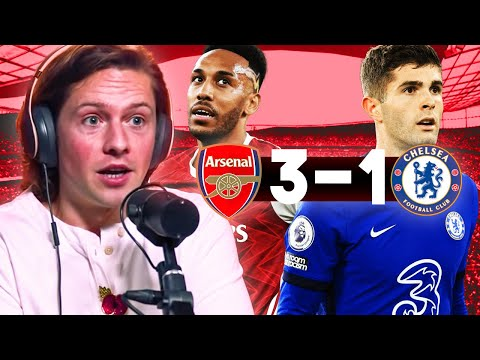 ARSENAL 3-1 CHELSEA  || RORY REACTS!