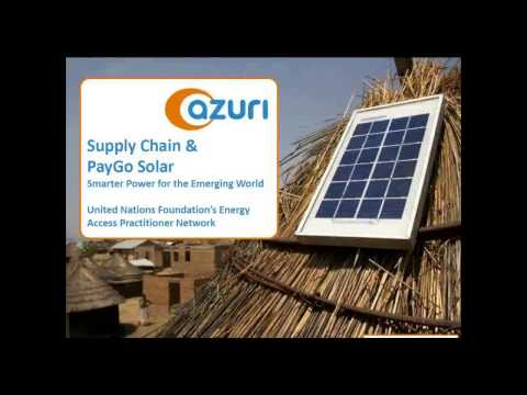 Effective Supply Chains for Energy Access