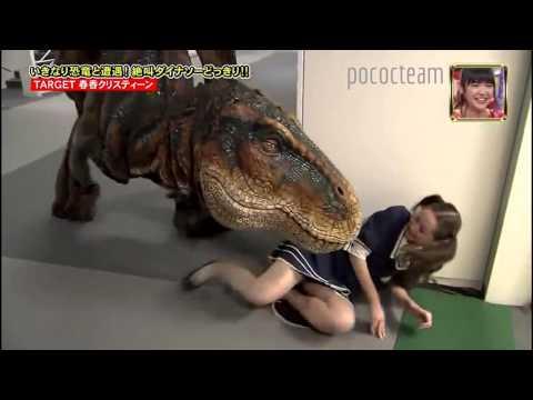 t-rex terrorizza i giapponesi, ci cascano tutti!