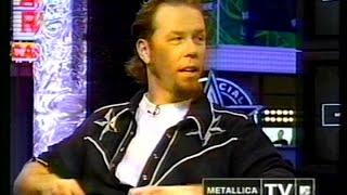 Download Lagu Metallica on MTV TRL - Garage Inc. Promo Special (1998) [TV Broadcast] Mp3