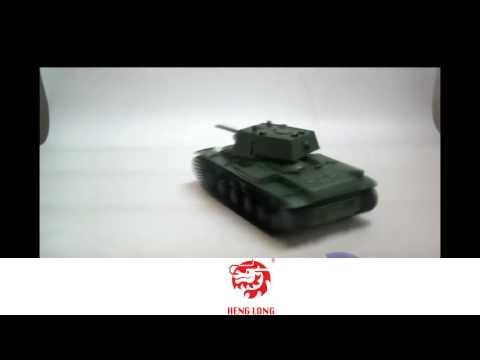 """Радиоуправляемый танк Heng Long """"КВ I"""" 1/16"""