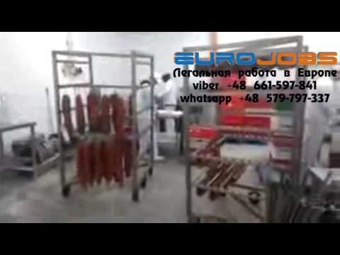 Работа на колбасном цеху в Белостока EuroJobs