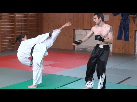Karate - For the first time in our Fight club´s history there comes a fight between man and woman. Karate champion LUCIA KOVACIKOVA vs streetfighter MARTIN DUDAS. Can she face much bigger and heavier...