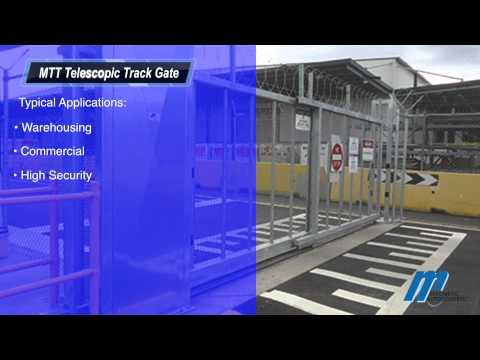 MTT Telescopic Track Gate