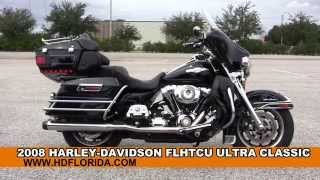 6. Used 2008 Harley Davidson Ultra Classic Electra Glide Motorcycles for sale