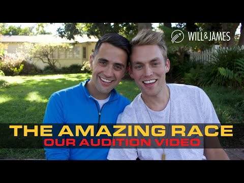 Our Amazing Race Audition Video   Will & James