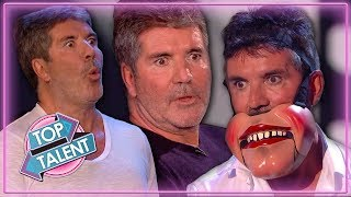 Video Simon Cowell UNDER PRESSURE on Stage on Britain's Got Talent 2019 | Top Talent MP3, 3GP, MP4, WEBM, AVI, FLV September 2019