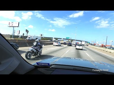 2017 11 05   Driving on 45 North from Downtown Houston to West Road