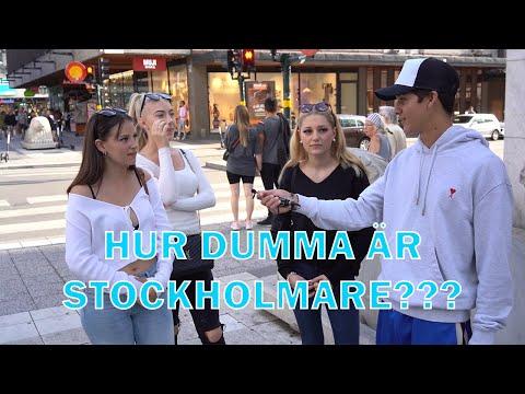 Hur Dumma Är Stockholmare? - Intervjuer på stan