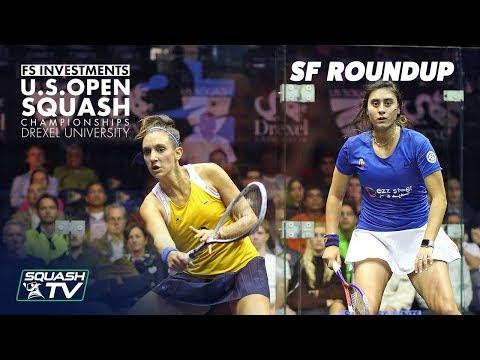 Squash: Women's Semi-Final Roundup - US Open 2018