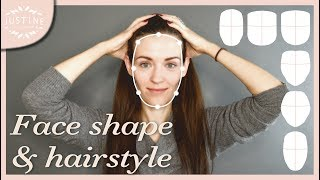 Video Good hairstyles for your face shape & how to determine your shape   Justine Leconte MP3, 3GP, MP4, WEBM, AVI, FLV Juni 2018