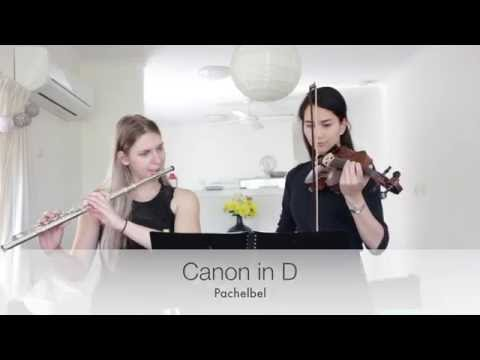 Canon In D - Pachelbel | Flute And Violin Duet