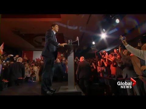 Federal Election 2015: Justin Trudeau's full acceptance speech
