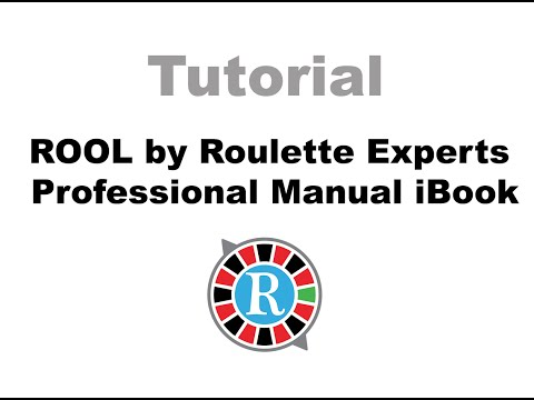 Roulette – ROOL by Roulette Experts Professional Manual   iBook